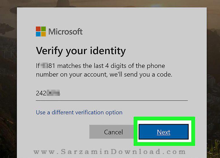 تغییر رمز عبور حساب کاربری ویندوز به صورت آنلاین