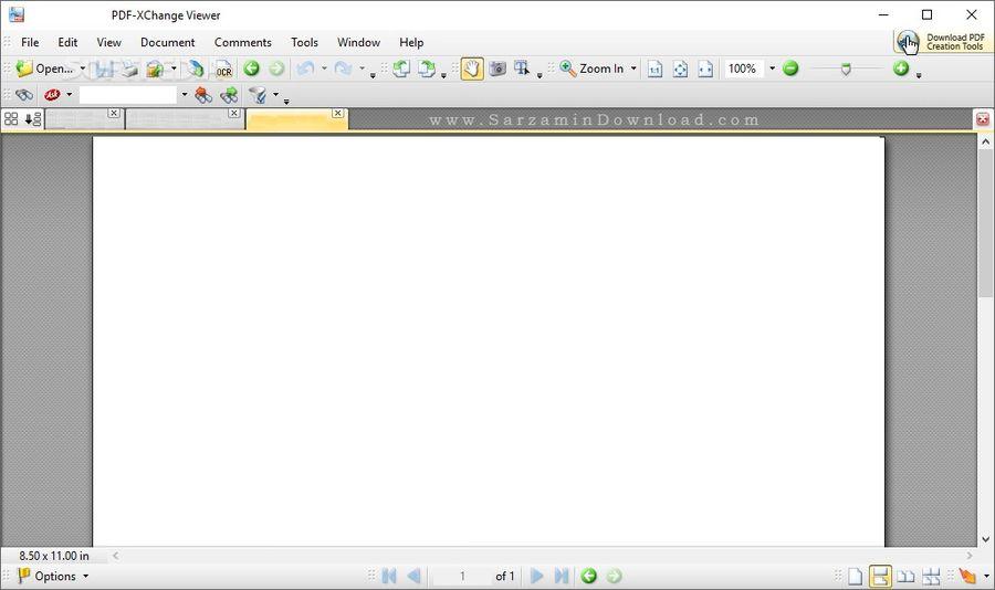 نرم افزار مشاهده و ویرایش PDF (برای ویندوز) - PDF-Xchange Viewer 2.5.320