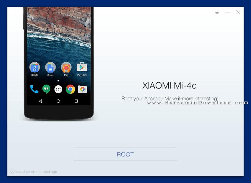 نرم افزار کینگ روت (برای ویندوز) - Kingo Android Root 1.5.3.3086 Windows