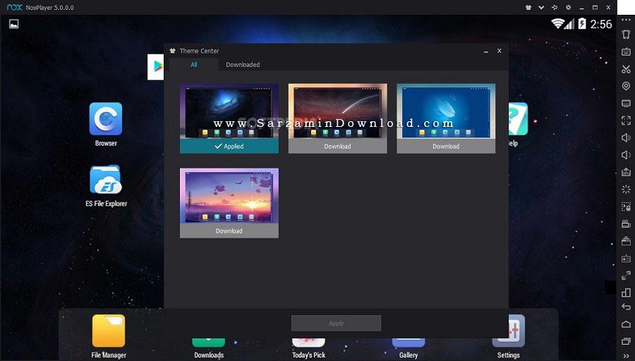 نرم افزار شبیه ساز اندروید (برای ویندوز) - Nox App Player 5.1.0.0 Windows