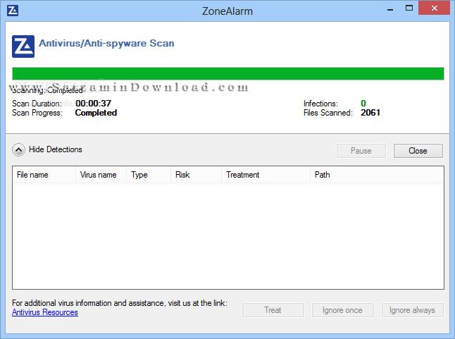 آنتی ویروس و فایروال رایگان زون آلارم (برای ویندوز) - ZoneAlarm Free Firewall and Antivirus 15.1.504.17269 Windows
