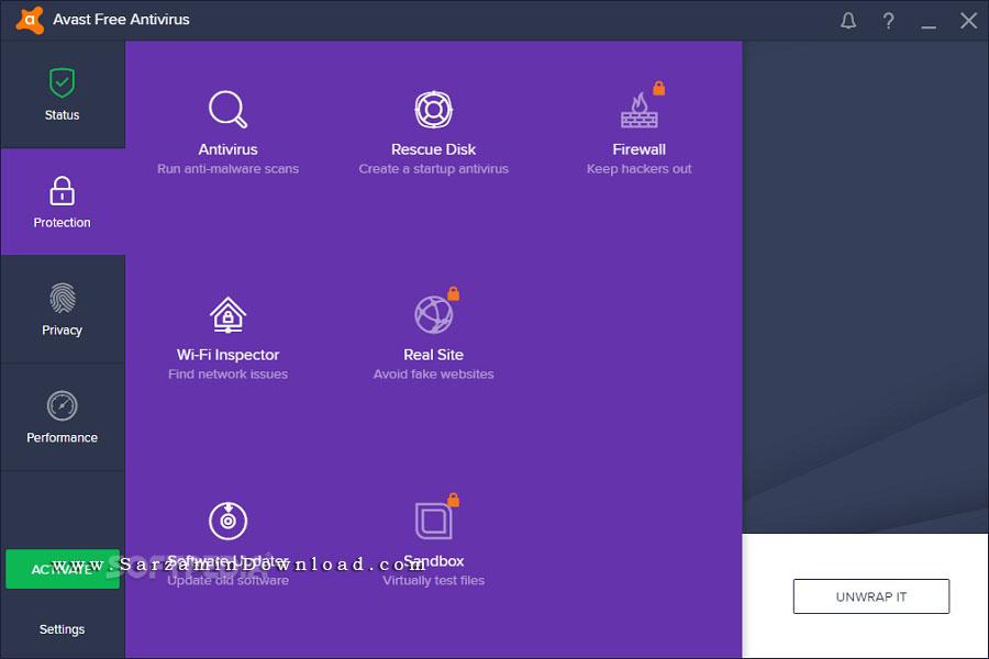 آنتی ویروس اوست، نسخه رایگان (برای ویندوز) - Avast Free Antivirus 17.7.2314 Windows