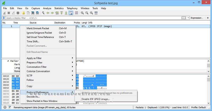 نرم افزار نظارت و کنترل شبکه (برای ویندوز) - Wireshark 2.4.2 Windows