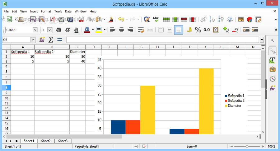 نرم افزار مشابه آفیس (برای ویندوز) - LibreOffice 5.4.3.2 Windows