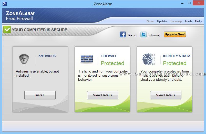 نرم افزار فایروال و امنیت اینترنت (برای ویندوز) - ZoneAlarm Free Firewall 15.1.509.17508 Windows