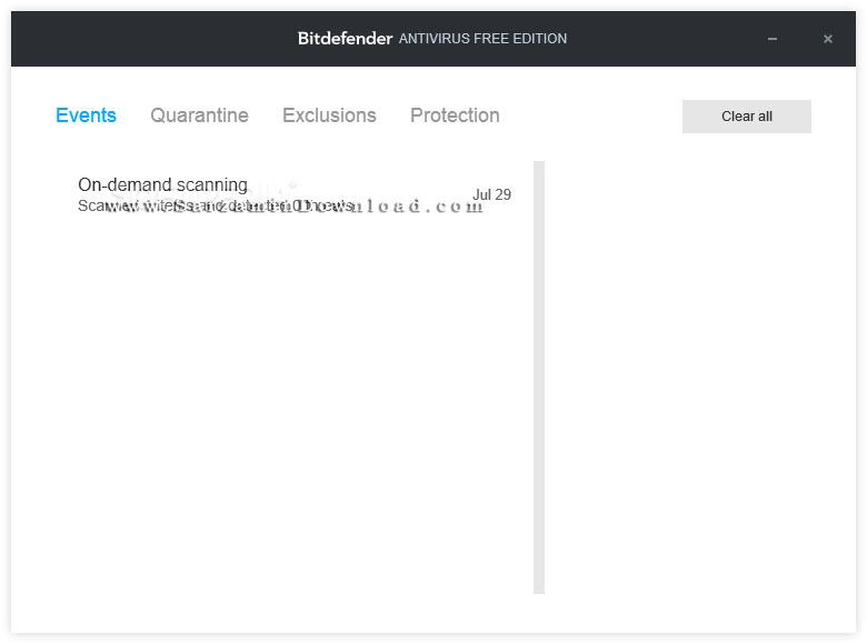 نسخه رایگان آنتی ویروس بیتدیفندر (برای کامپیوتر) - Bitdefender Antivirus Free Edition 1.0.15.141