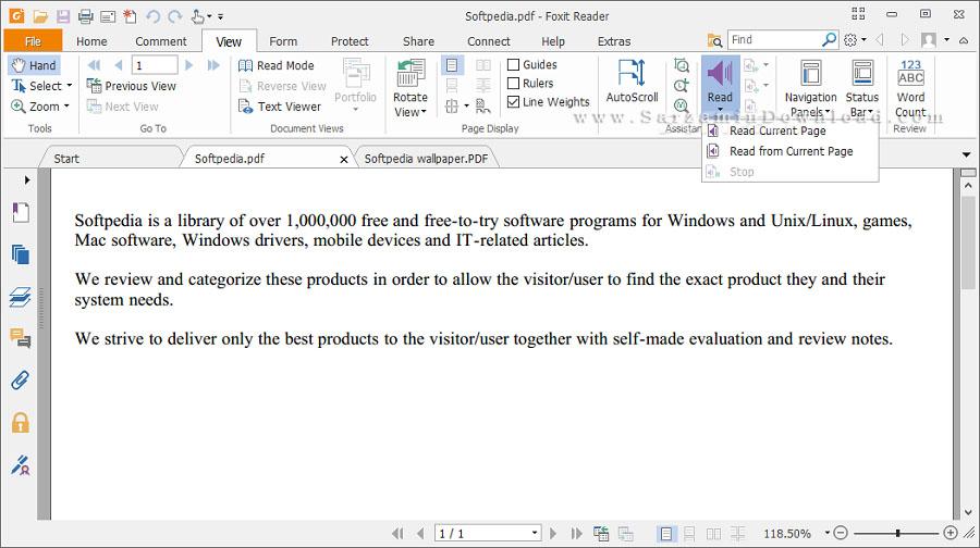 نرم افزار خواندن و ویرایش PDF با امکانات فراوان (برای ویندوز) - Foxit Reader 9.7.1 Windows