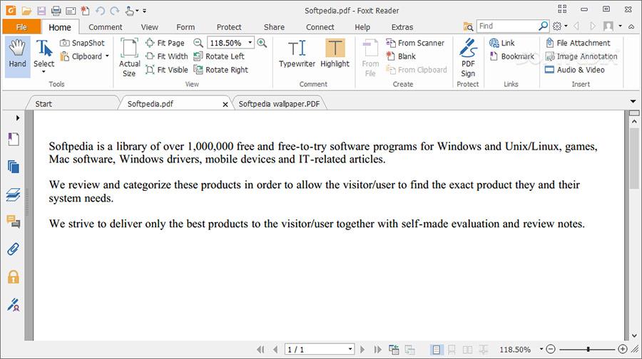 نرم افزار خواندن و ویرایش PDF با امکانات فراوان (برای ویندوز) - Foxit Reader 10.1.0 Windows