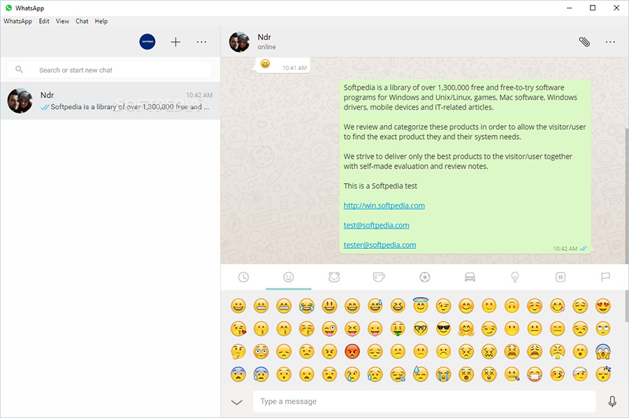 نرمافزار واتساپ (برای ویندوز) - WhatsApp Messenger Desktop 2.2035.14 Windows