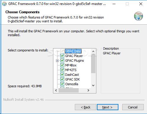 نرمافزار خاموش کردن سریع سیستم (برای ویندوز) - GPAC 1.0.1 rev 0 Windows