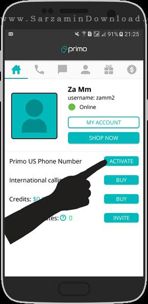 آموزش ساخت شماره مجازی رایگان برای تلگرام و دیگر مسنجر ها