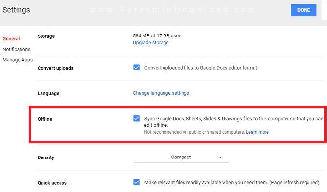 چگونه به فایل های Google Drive در حالت آفلاین دسترسی داشته باشیم؟