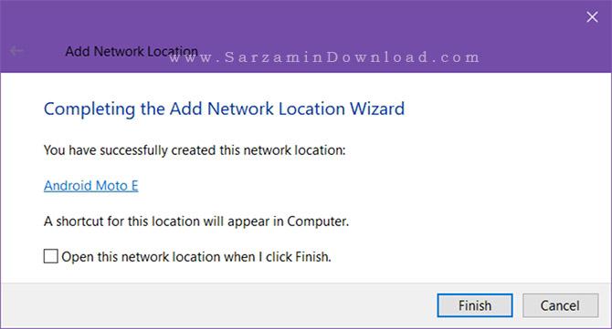 آموزش تبدیل فایل اکسپلورر ویندوز به کلاینت FTP