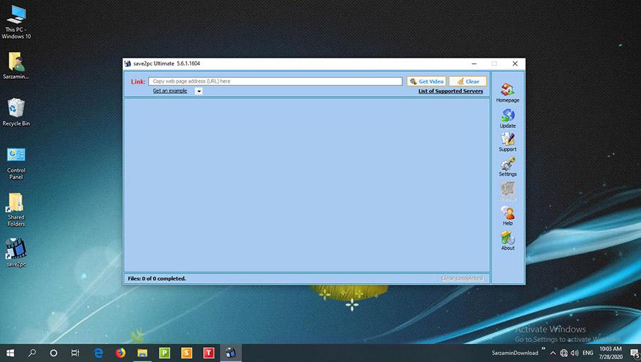 نرم افزار دانلود ویدیو از اینترنت (برای ویندوز) - save2pc Ultimate 5.6.3.1615 Windows