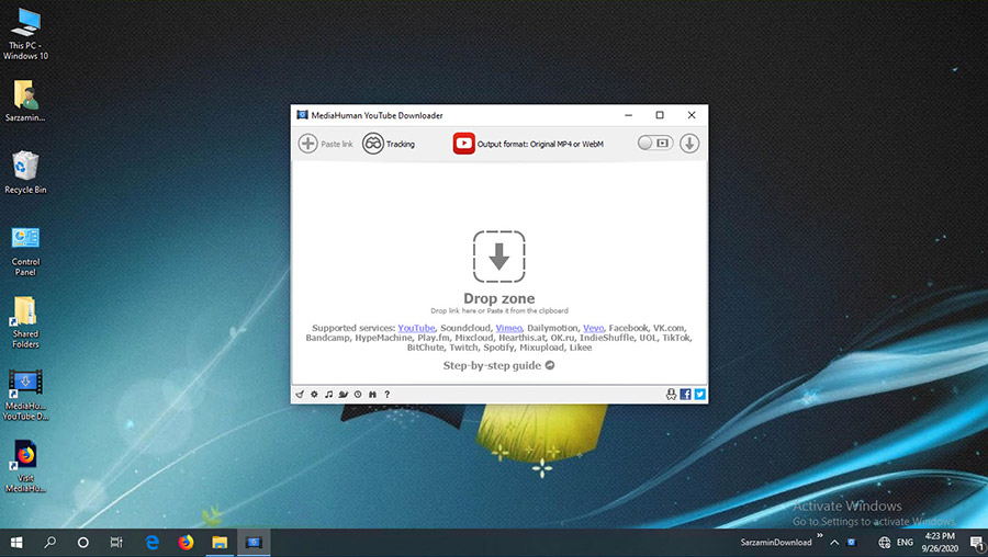 نرم افزار دانلود فیلم از یوتیوب (برای ویندوز) - MediaHuman YouTube Downloader 3.9.9.52 Windows