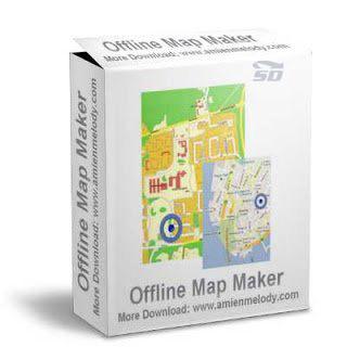 نرم افزار ذخیره نقشه های آنلاین گوگل، یاهو و بینگ (برای ویندوز) - Allmapsoft Offline Map Maker 8.134 Windows