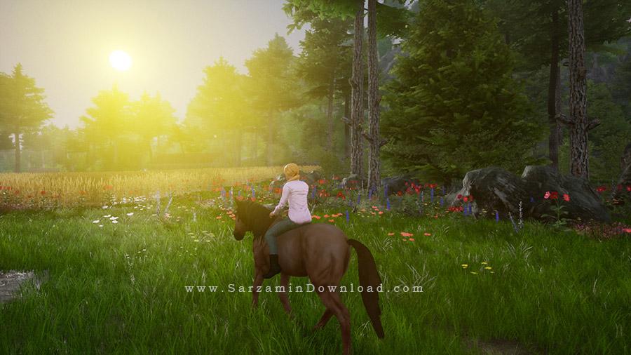 بازی شبیه ساز اسب سواری 2 (برای کامپیوتر) - Horse Riding Deluxe 2 PC Game
