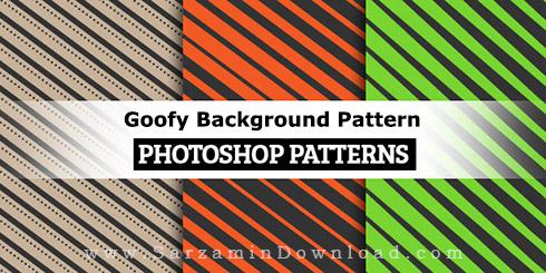 پترن خنده دار برای فتوشاپ - Goofy Background Pattern