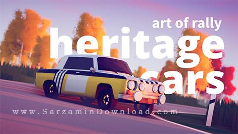 بازی هنر رالی (برای کامپیوتر) - Art of Rally Heritage PC Game