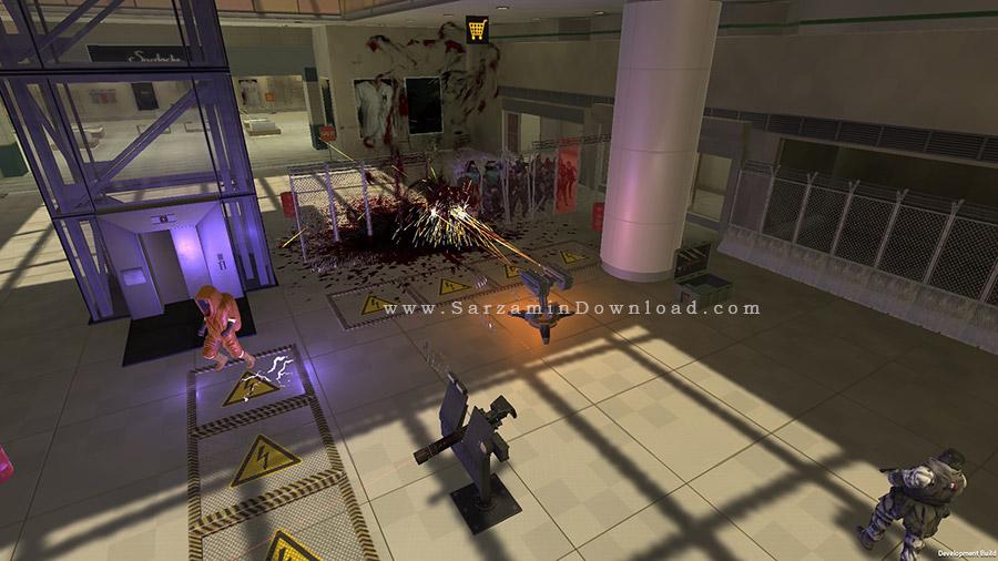 بازی دفاع در مقابل زامبی ها (برای کامپیوتر) - Ultimate Zombie Defense PC Game