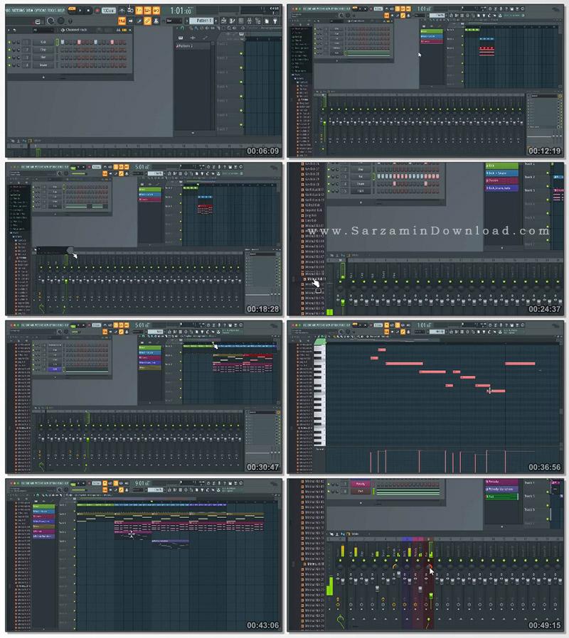 آموزش دوره مبتدی آهنگسازی با اف ال استودیو (فیلم آموزشی)