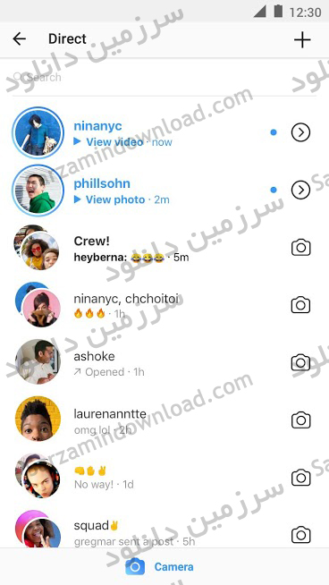 نرمافزار اینستاگرام (برای اندروید) - Instagram 184.0.0.0.26 Android