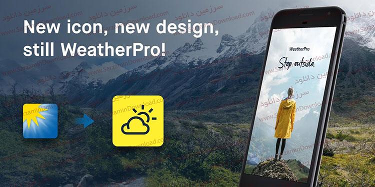 نرم افزار هواشناسی (برای اندروید) - WeatherPro 5.6.2 Android