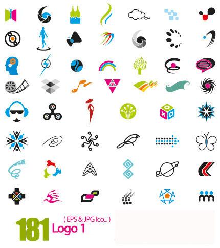 دانلود وکتور لوگوی متنوع و انتزاعی - Logo 01 - دانلود رایگان