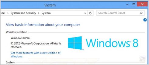 نسخه حرفه ای ویندوز 8 مایکروسافت