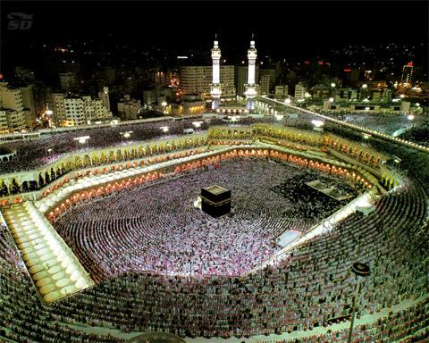 دانلود مجموعه تصاویر 3 بعدی از اماکن متبرکه اسلامی مکه