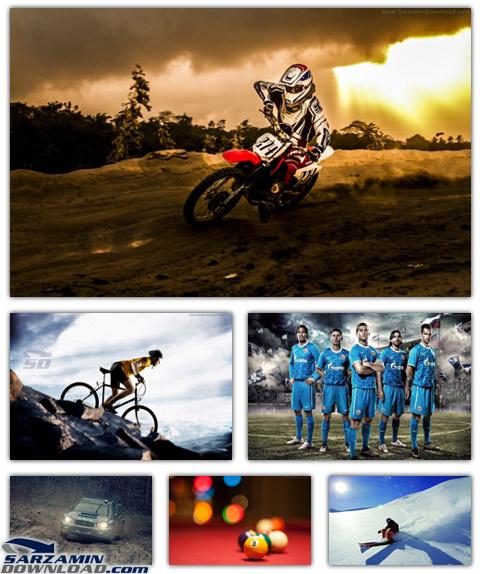 دانلود مجموعه عکس بک گراند با کیفیت بالا، با موضوعات ورزشی
