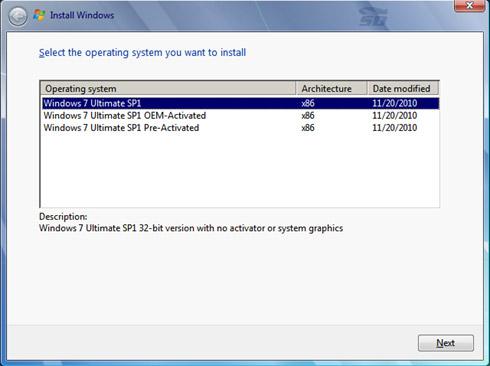 ویندوز 7 آلتیمیت سرویس پک 1 سال 2014