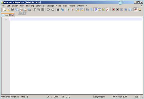 تصویری از محیط نرم افزار