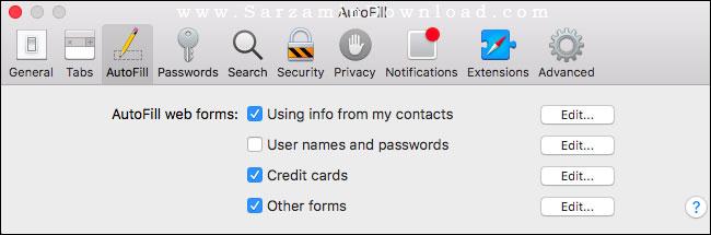 روش نمایش ندادن سوال Save Passwords در مرورگر ها