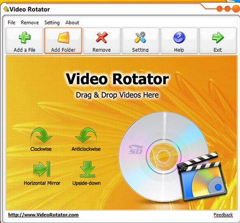 نرم افزار چرخش فیلم - Video Rotator 2