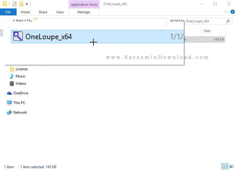 نرم افزار ذره بین برای کامپیوتر - OneLoupe 3.91