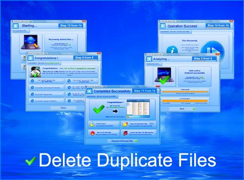 نرم افزار حذف فایل های تکراری - Delete Duplicates Files 6.5