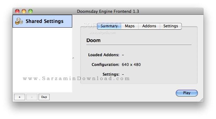 موتور تقویت کننده بازی های Doom (برای مک) - Doomsday Engine
