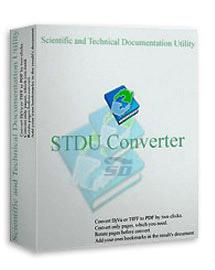نرم افزار تبدیل اسناد اداری به PDF (برای ویندوز) - STDU Converter 2 Windows