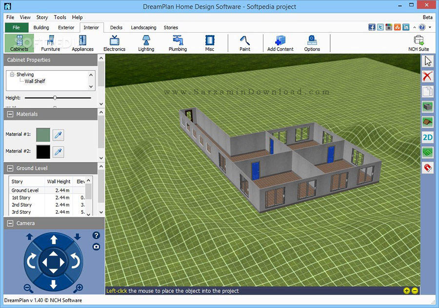 نرم افزار ساده و کم حجم برای طراحی ساختمان (برای ویندوز ...