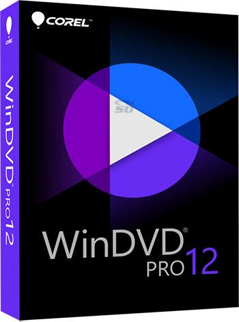 نرم افزار پخش دی وی دی (برای ویندوز) - Corel WinDVD Pro 12.0.0.81 SP3 Windows