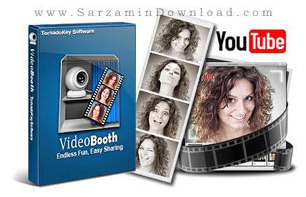 نرم افزار افکت وب کم (برای ویندوز) - Video Booth Pro 2.8.3.2 Windows