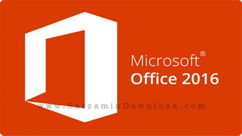 نرم افزار آفیس 2016 همراه با آپدیت های جدید (برای ویندوز) - Microsoft Office 2016 Pro Plus VL April 2018 Windows