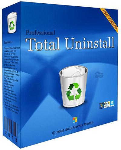 نرم افزار حذف کامل برنامه های نصب شده در ویندوز - Total Uninstall Pro 6.22.1.505 Windows
