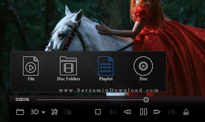 نرم افزار پخش دی وی دی (برای ویندوز) - Corel WinDVD Pro 12.0.0.90 SP5 Windows