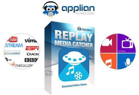 نرم افزار ذخیره فیلم و آهنگ های آنلاین (برای ویندوز) - Replay Media Catcher 7.0.1.13 Windows