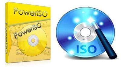 نرم افزار رایت ISO Image و ساخت درایو مجازی (برای ویندوز) - PowerISO 7.1 Windows