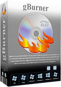 نرم افزار ساده رایت CD و DVD (برای ویندوز) - gBurner 4.7 Windows
