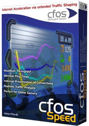 نرم افزار بهینه سازی و افزایش سرعت اینترنت (برای ویندوز) - cFosSpeed 10.26 Build 2312 Windows