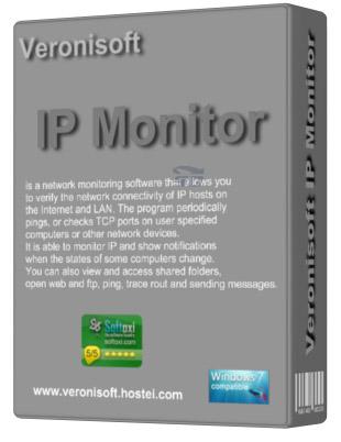 نرم افزار مانیتور کردن شبکه (برای ویندوز) - VS IP Monitor 1.13.0.0 Windows